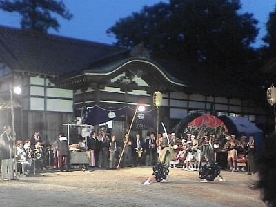 若宮八幡神社、春祭り (雑記 )