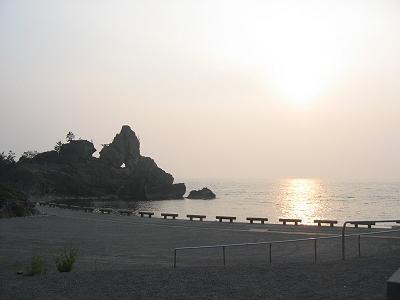 曽々木海岸、千枚田と蛍狩り (ι )