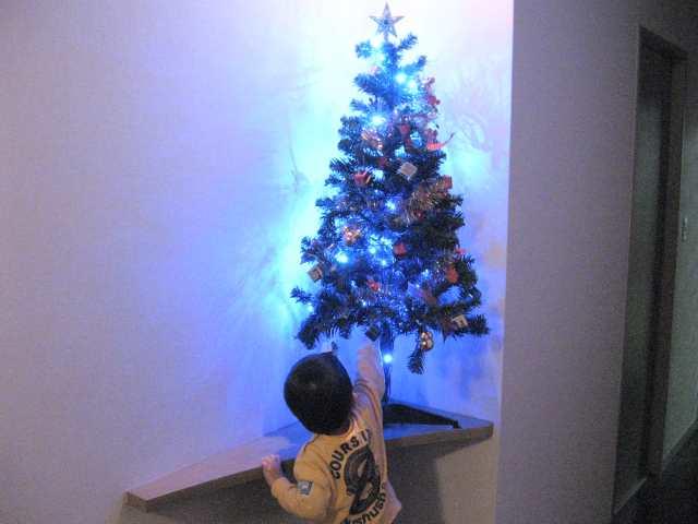 ちょっと早いけどクリスマスツリー点灯。あれ? (雑記 )