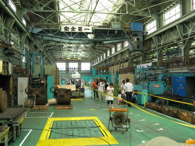 灼熱のJR松任工場 (雑記 )