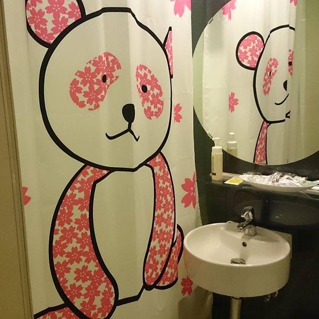 今夜は上野のホテルで宿泊。さすが上野!パンダだらけだ(~_~;)