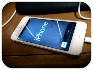 ママのiPhone5が届いた!ただいまセッ