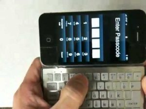 iPhoneのキーボード (PC )