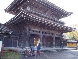 晩秋の井波~庄川ポタリング